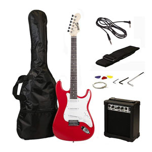 RockJam RJEG02-SK-RD Electric Guitar Starter Kit